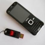 Nokia N78 e memoria USb
