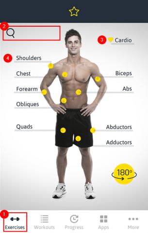 App Gym Workout